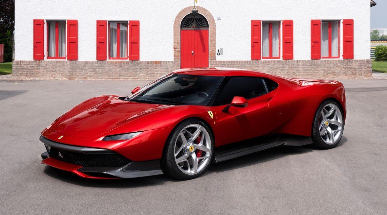SP38, la Ferrari esclusiva destinata a un cliente misterioso