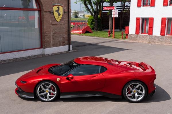 ferrari, SP38, la Ferrari esclusiva destinata a un cliente misterioso