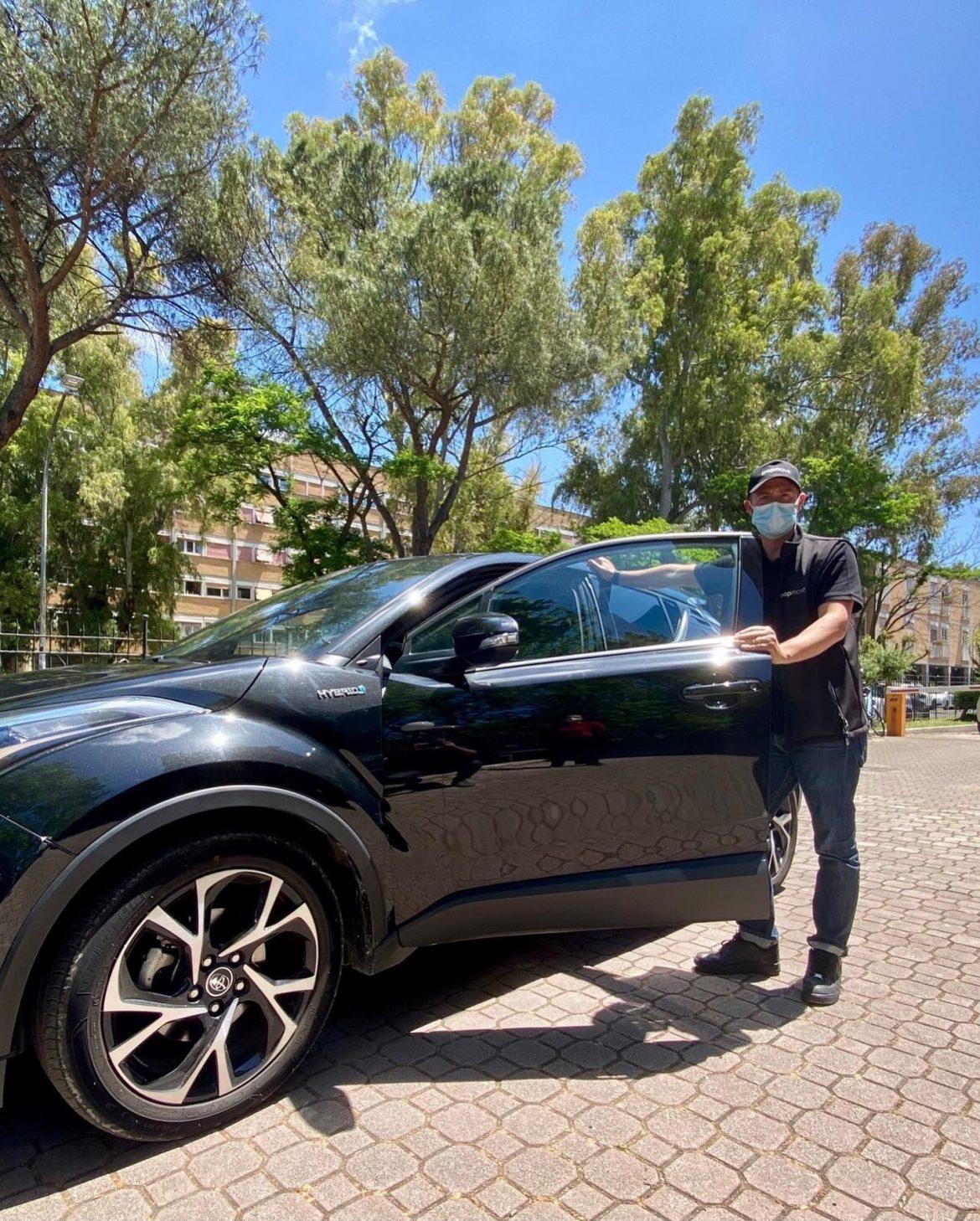 Popmove consegna la prima auto a domicilio