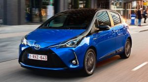 Toyota Yaris Hybrid Hurry