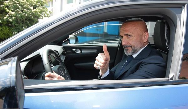 Per Luciano Spalletti un'auto…da Champions