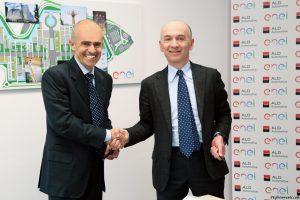 Andrea Badolati, Amministratore Delegato ALD Automotive Italia e Nicola Lanzetta Head of Italy Global Market at Enel