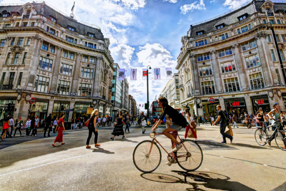 Bicicletta Londra