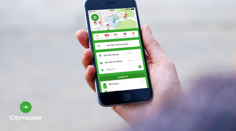 Citymapper, l'app per semplificare gli spostamenti in città