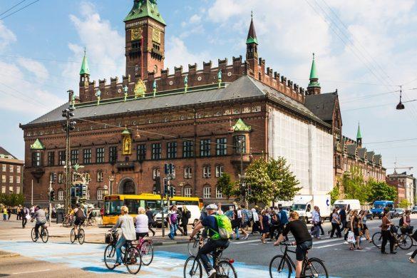 Copenhagen, più bici che auto