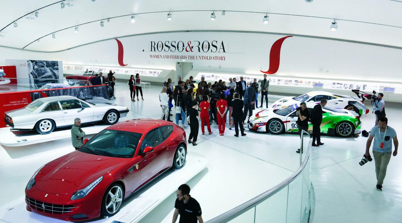 Non solo rosse. Donne e Ferrari in mostra a Modena