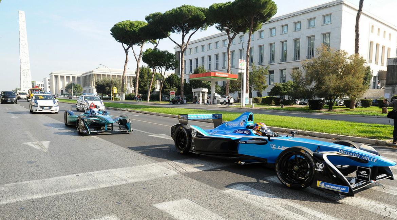 Roma: è febbre da Formula-E!