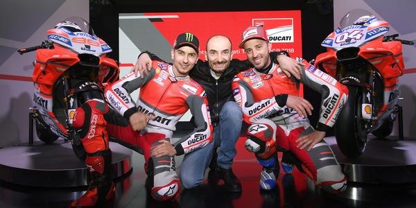 Ducati Team 2018: l'obiettivo è il titolo
