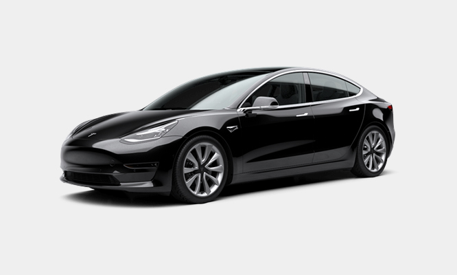 La Tesla Model 3 sbarca sulla vetrina di Hurry