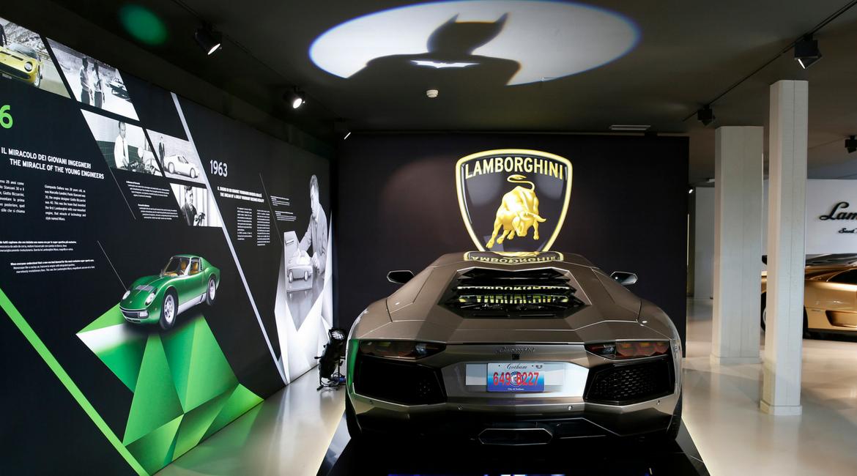 Lamborghini, da Rocky a Batman