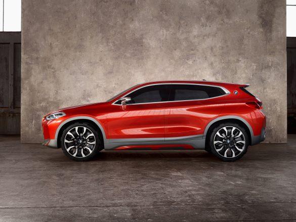 BMW X2 concept, BMW X2 concept, quando l'auto è (anche) un quadro!