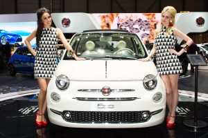 Fiat 500 al Salone di Ginevra