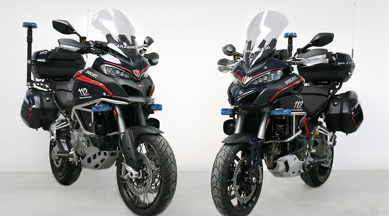 Le Ducati Multistrada entrano in servizio con i Carabinieri