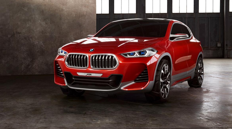 BMW X2 concept, quando l'auto è (anche) un quadro!
