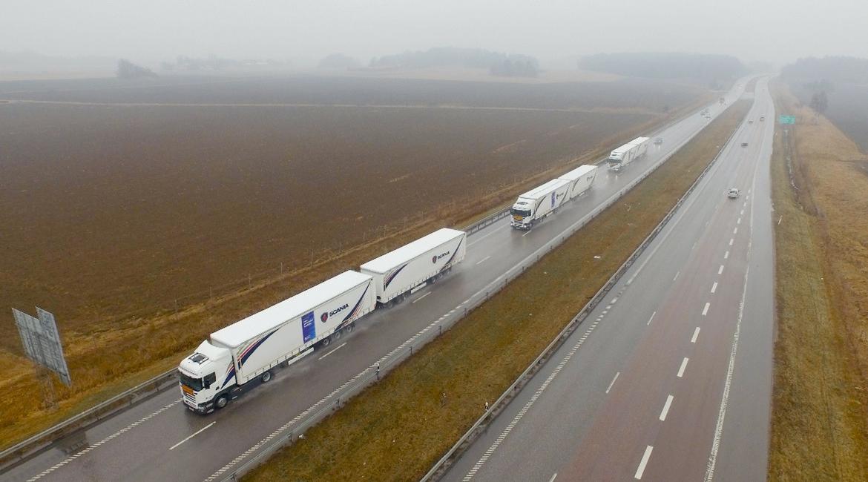 Autotrasporto 2.0: arrivano i convogli semiautomatizzati