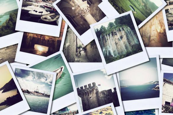 Polaroid, foto social