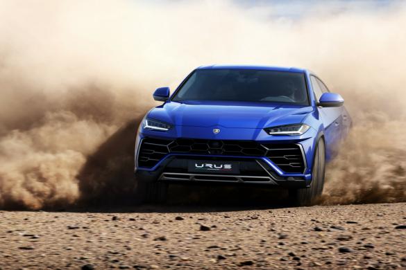 Lamborghini Urus Hurry