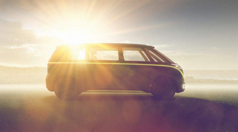 Il pulmino Volkswagen viaggia nel futuro
