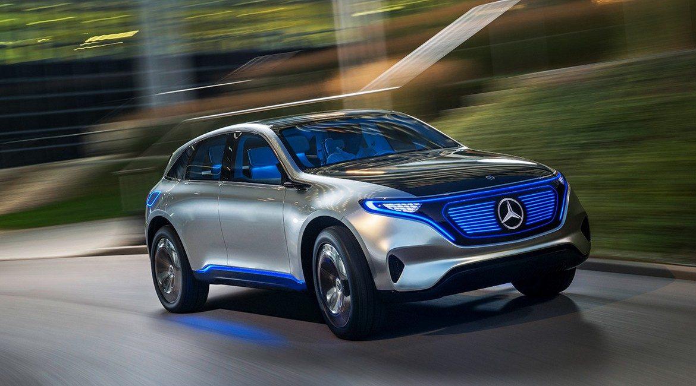 Menrcedes-Benz EQ Concept Hurry!