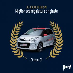 OSCAR 2018: le premiazioni alle auto di Hurry!