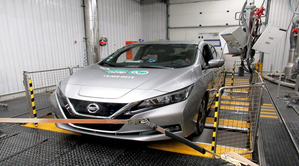 Nissan Leaf Green NCAP