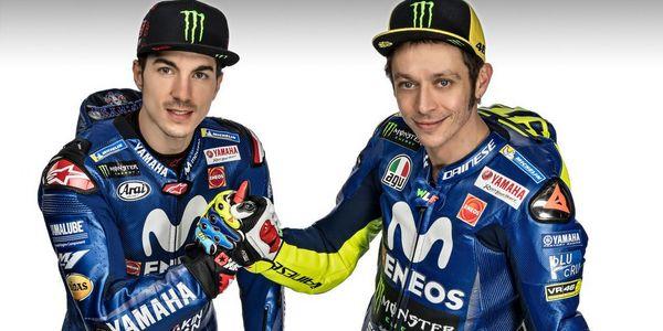 Yamaha: il 2018 riparte da Rossi, Viñales e una nuova livrea
